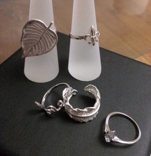 Assorted rings (Sterling Silver)